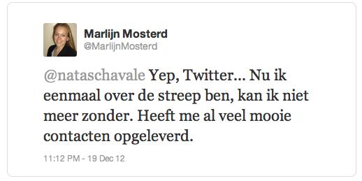 Marlijn Mosterd twitter